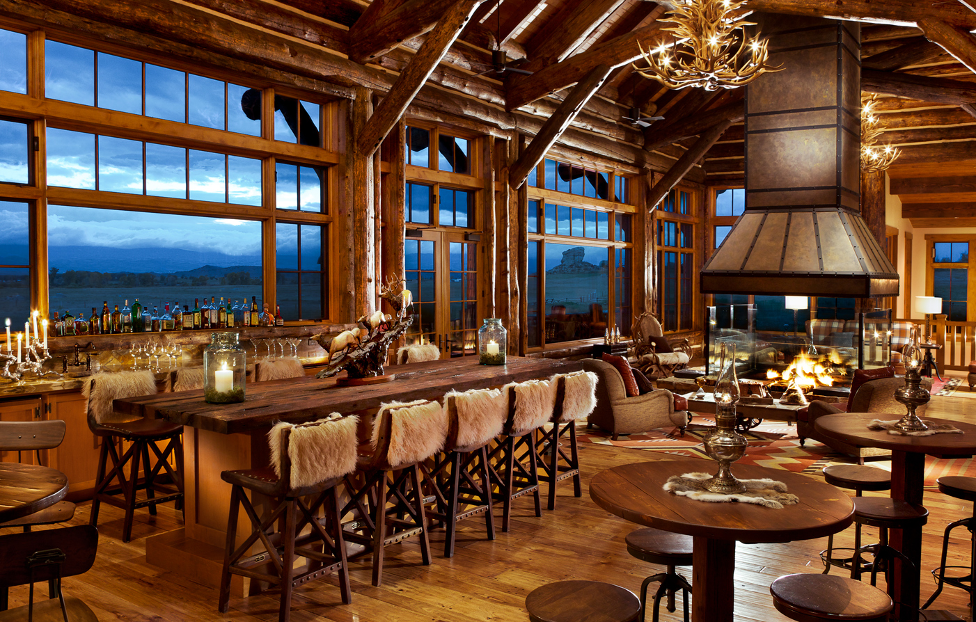 Dining:      The Lodge & Spa At Brush Creek Ranch  in Saratoga