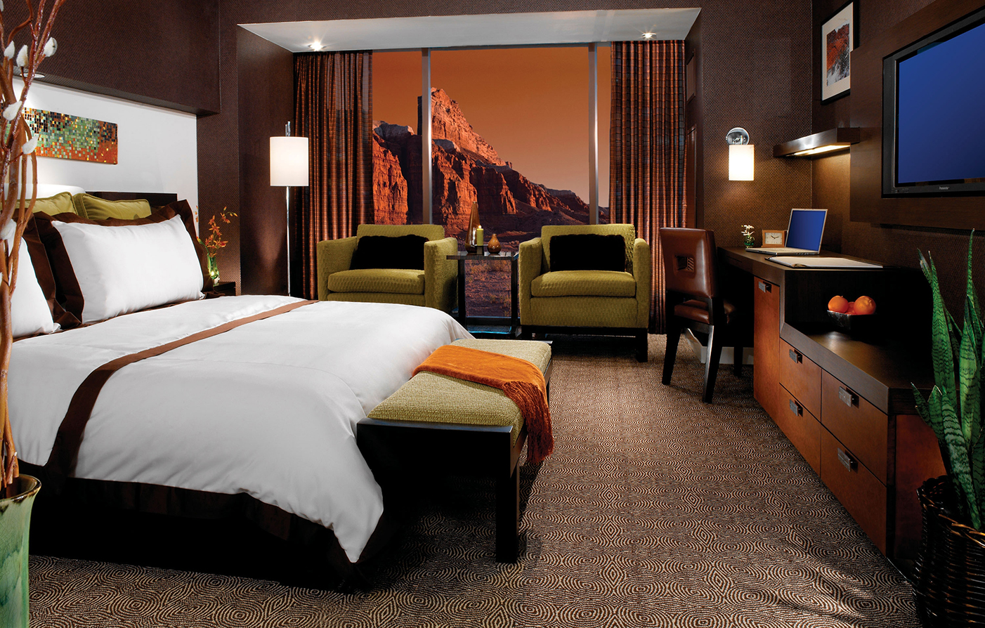 Accommodations:      Red Rock Casino, Resort & Spa  in Las Vegas