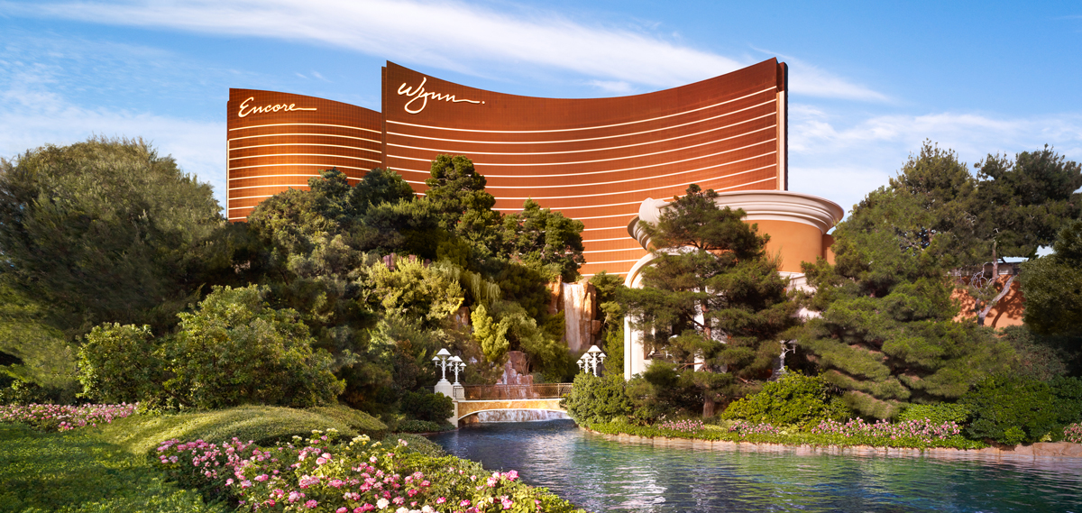 Wynn Las Vegas and Encore, Las Vegas Nevada, Exterior