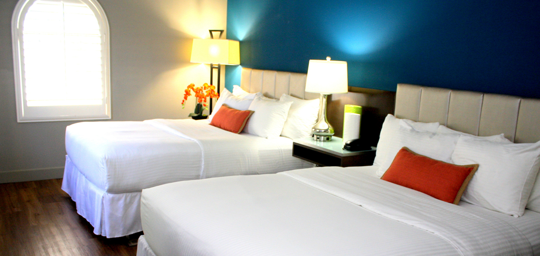 Accommodations:      The BLVD Hotel & Suites  in Hollywood