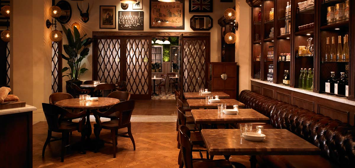 Dining:      The Hollywood Roosevelt  in Los Angeles