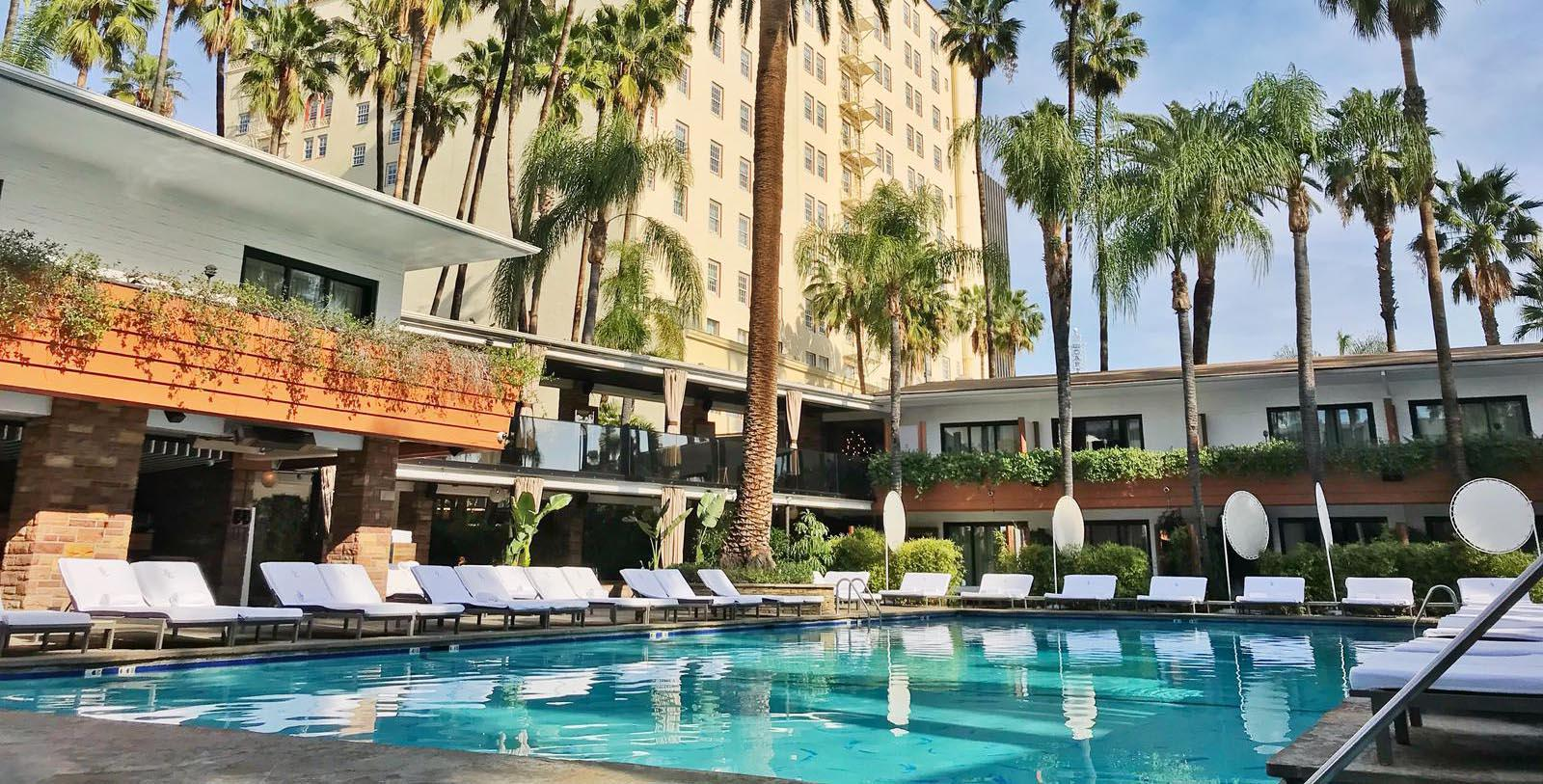 Image of Pool The Hollywood Roosevelt, 1927, Member of Historic Hotels of America, in Hollywood, California, Explore