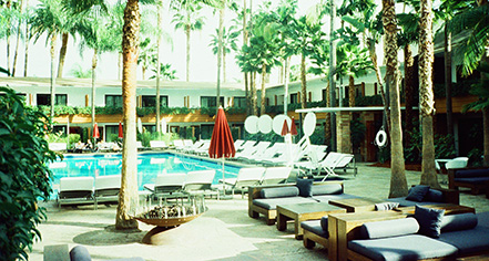 Activities:      The Hollywood Roosevelt  in Los Angeles