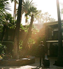 Local Attractions:      The Hollywood Roosevelt  in Los Angeles