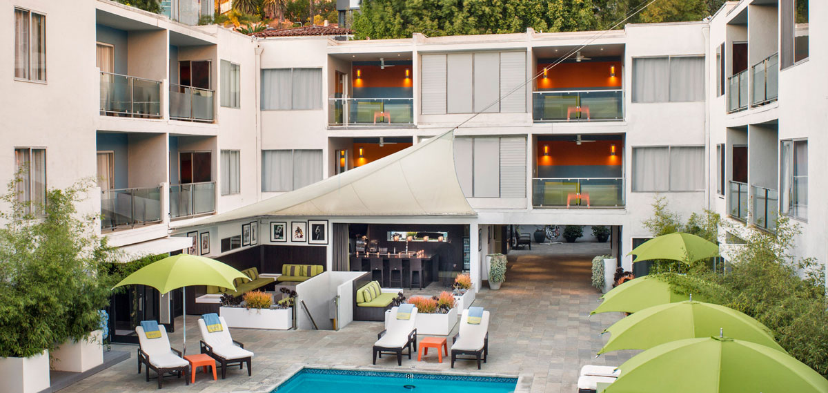 The Sunset Marquis Hotel and Villas  in Los Angeles