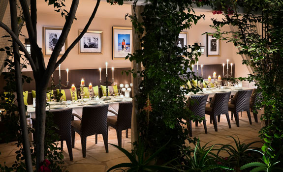 The Sunset Marquis Hotel and Villas  - Dining