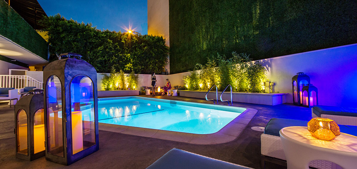 Activities:      The Mosaic Hotel Beverly Hills  in Beverly Hills