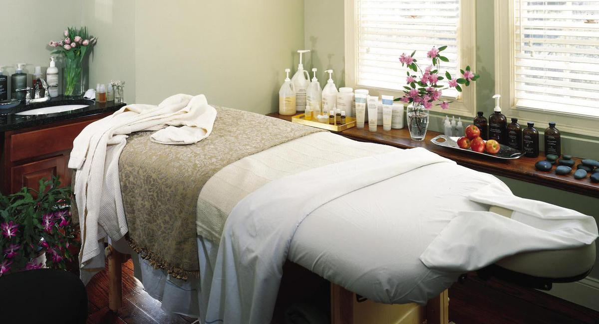 Image of Spa Treatment Room at Castle Hill Resort and Spa, 1905, Member of Historic Hotels of America, in Cavendish, Vermont, Spa