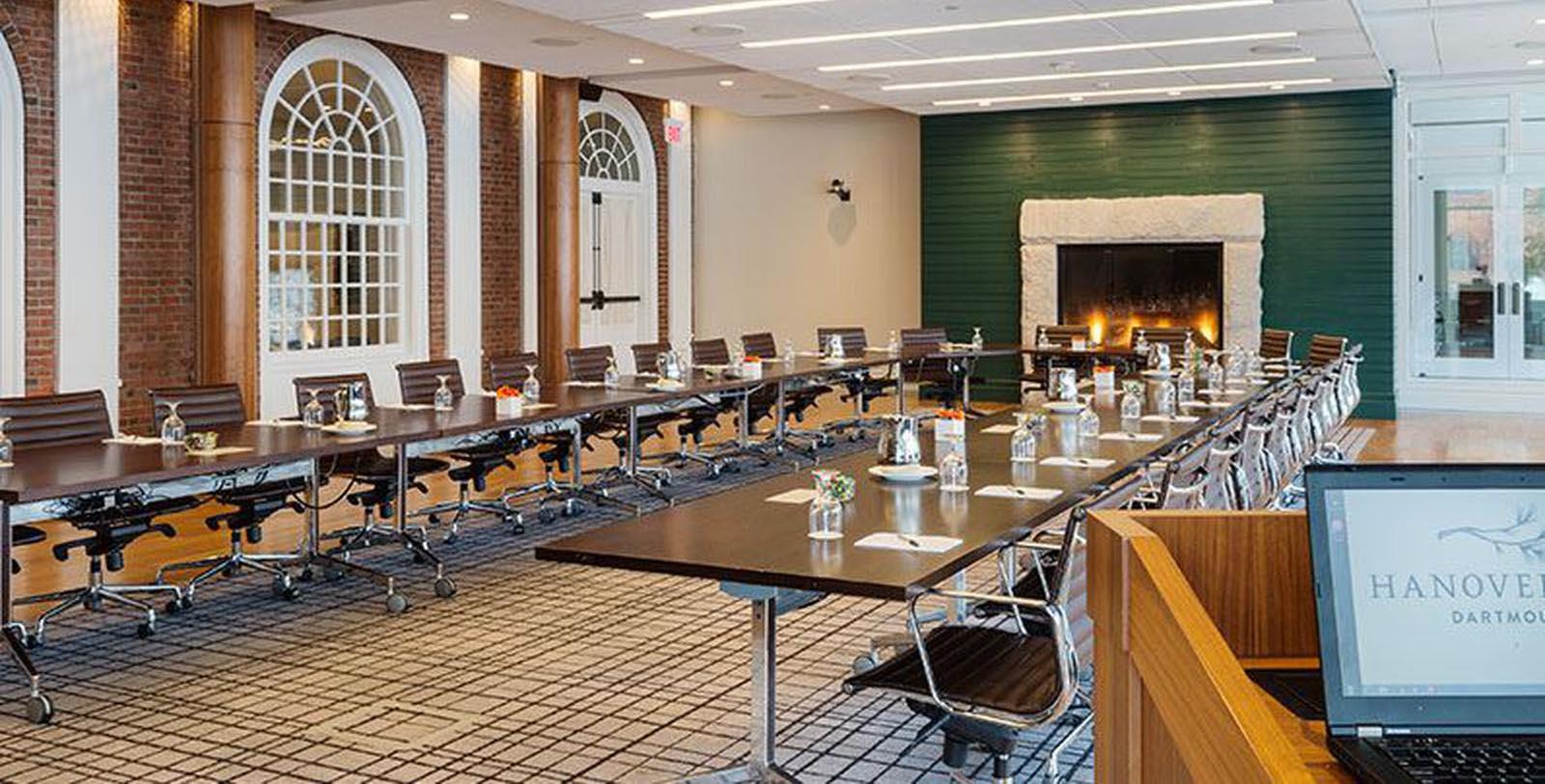 Image of meeting room set up Hanover Inn Dartmouth, 1780, Member of Historic Hotels of America, in Hanover, New Hampshire, Experience