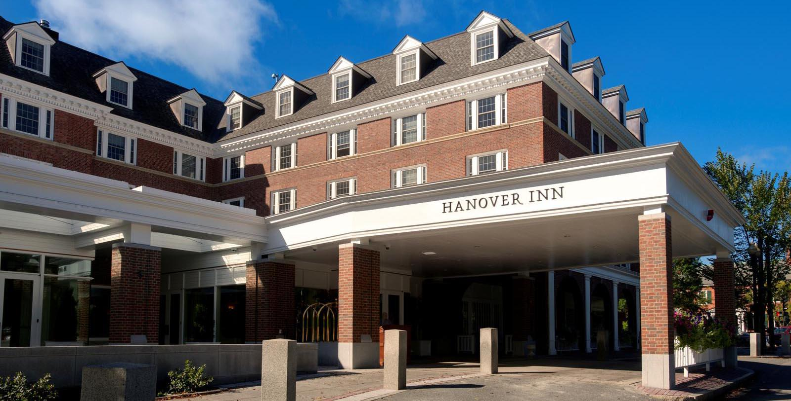 Image of hotel exterior Hanover Inn Dartmouth, 1780, Member of Historic Hotels of America, in Hanover, New Hampshire, Discover
