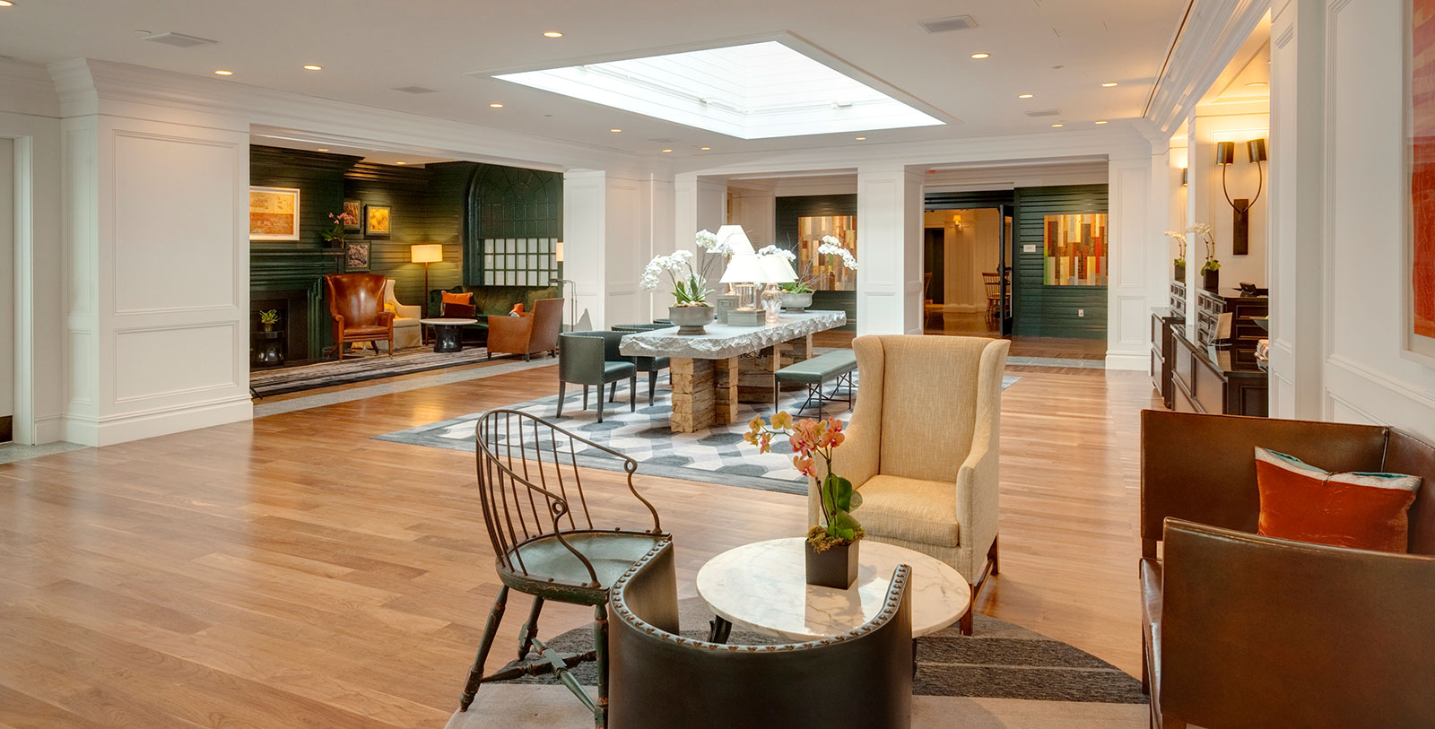 Image of Hotel Lobby Hanover Inn Dartmouth, 1780, Member of Historic Hotels of America, in Hanover, New Hampshire, Hot Deals