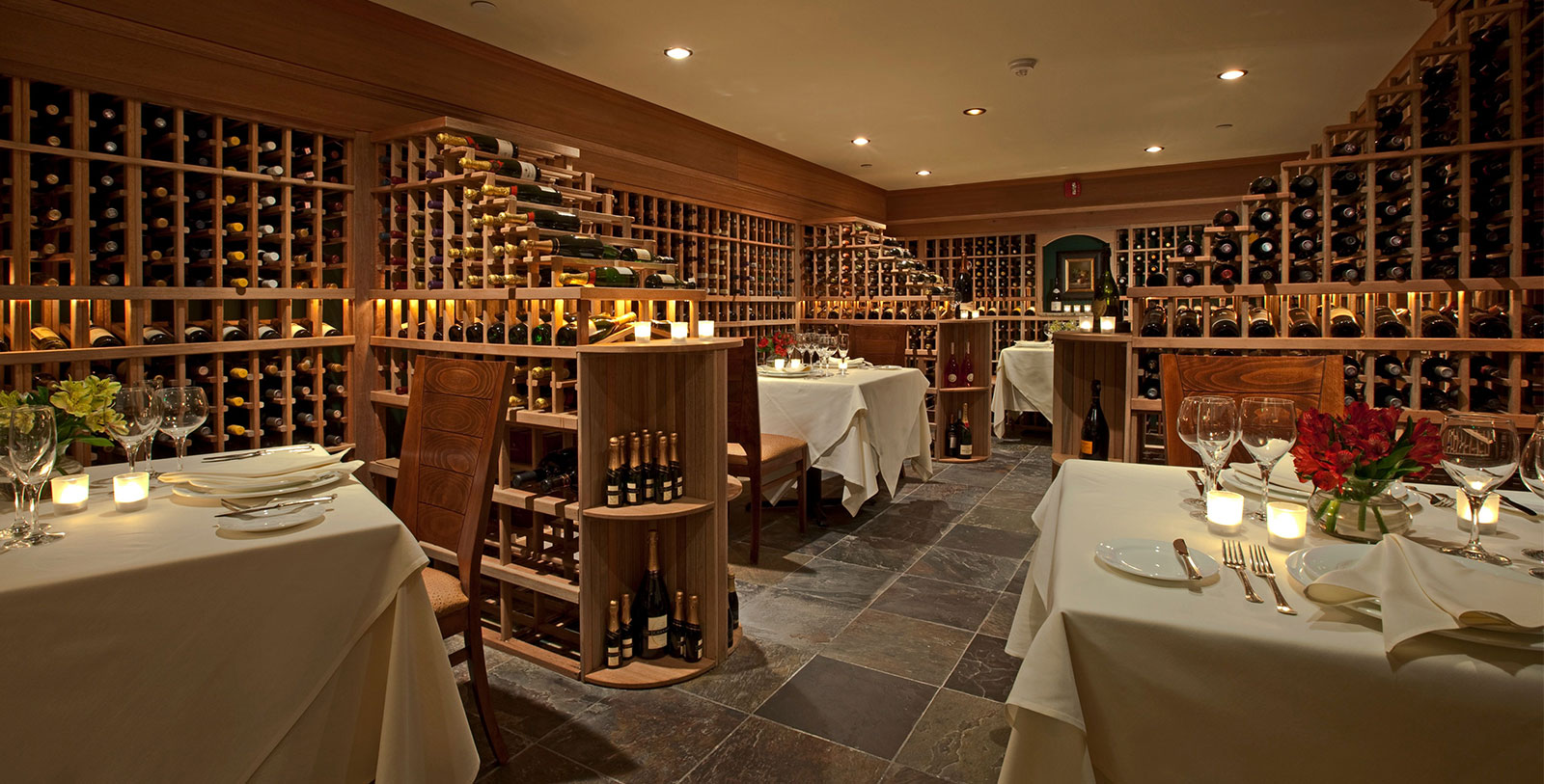 Image of Wine Cellar, Mountain View Grand Resort & Spa in Whitefield, New Hampshire, 1865, Member of Historic Hotels of America, Dining