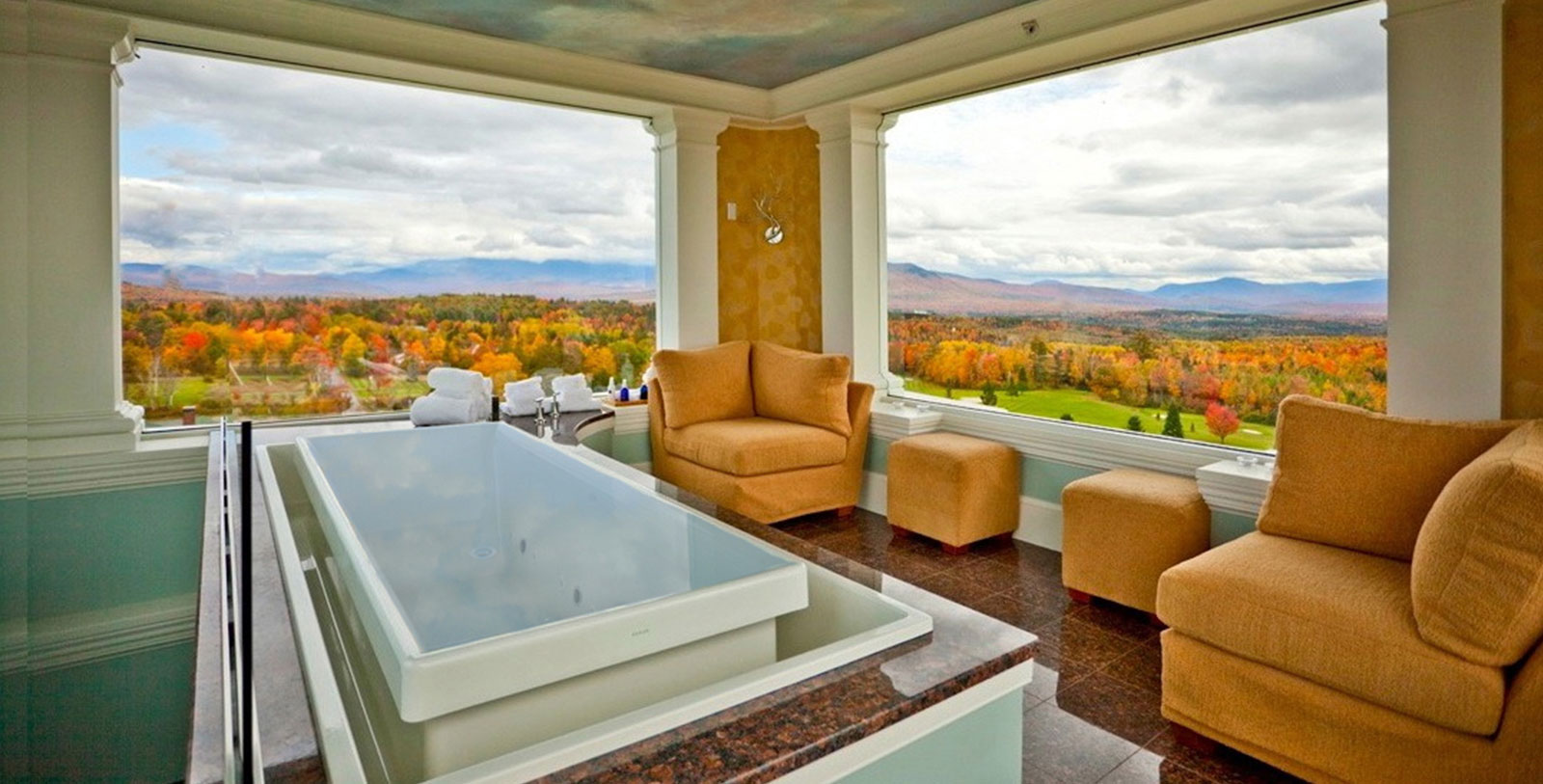 Image of Sok Tub, Mountain View Grand Resort & Spa in Whitefield, New Hampshire, 1865, Member of Historic Hotels of America, Spa