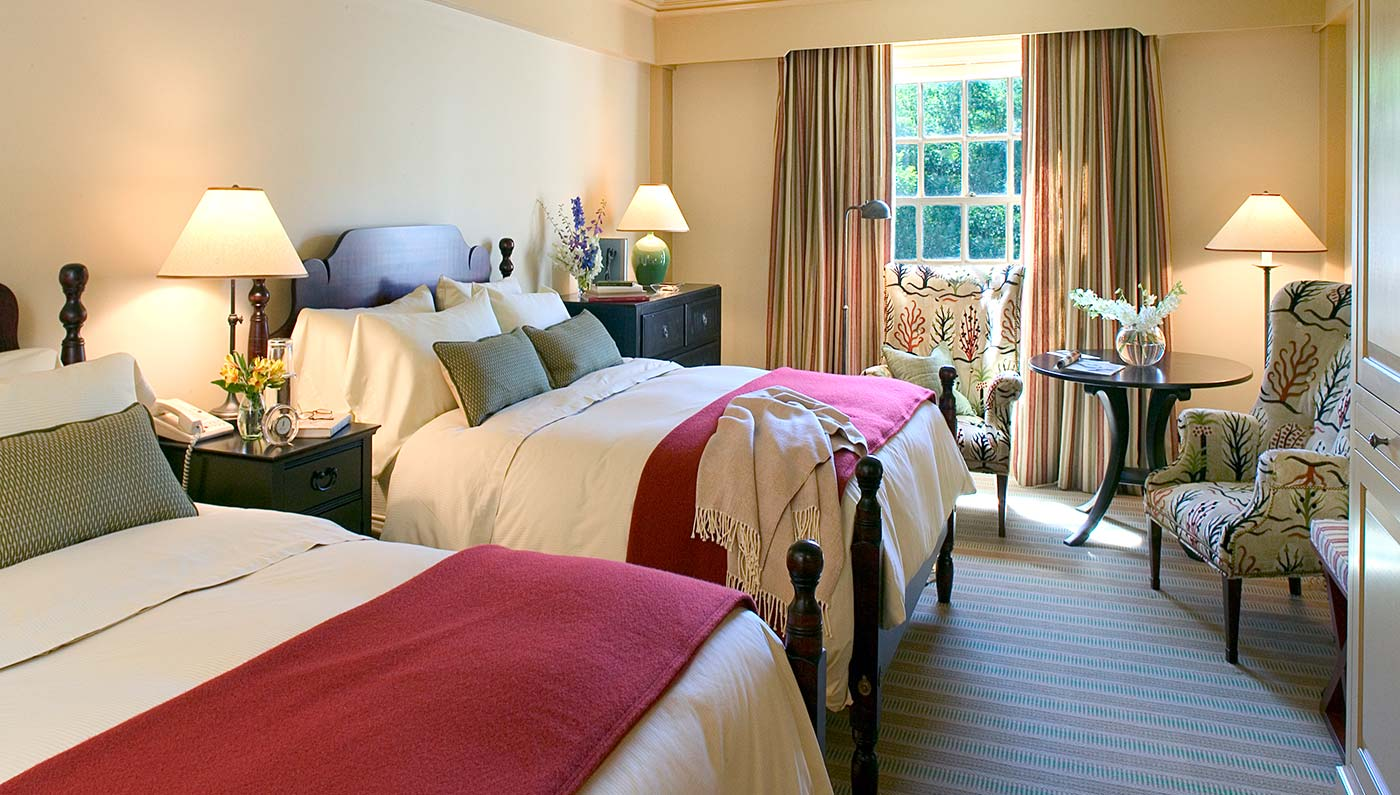 Accommodations:      Woodstock Inn & Resort  in Woodstock