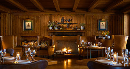 Dining at      Woodstock Inn & Resort  in Woodstock