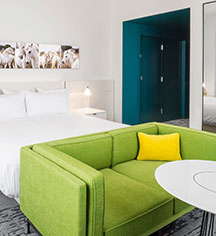 Accommodations:      21c Museum Hotel Lexington by MGallery  in Lexington