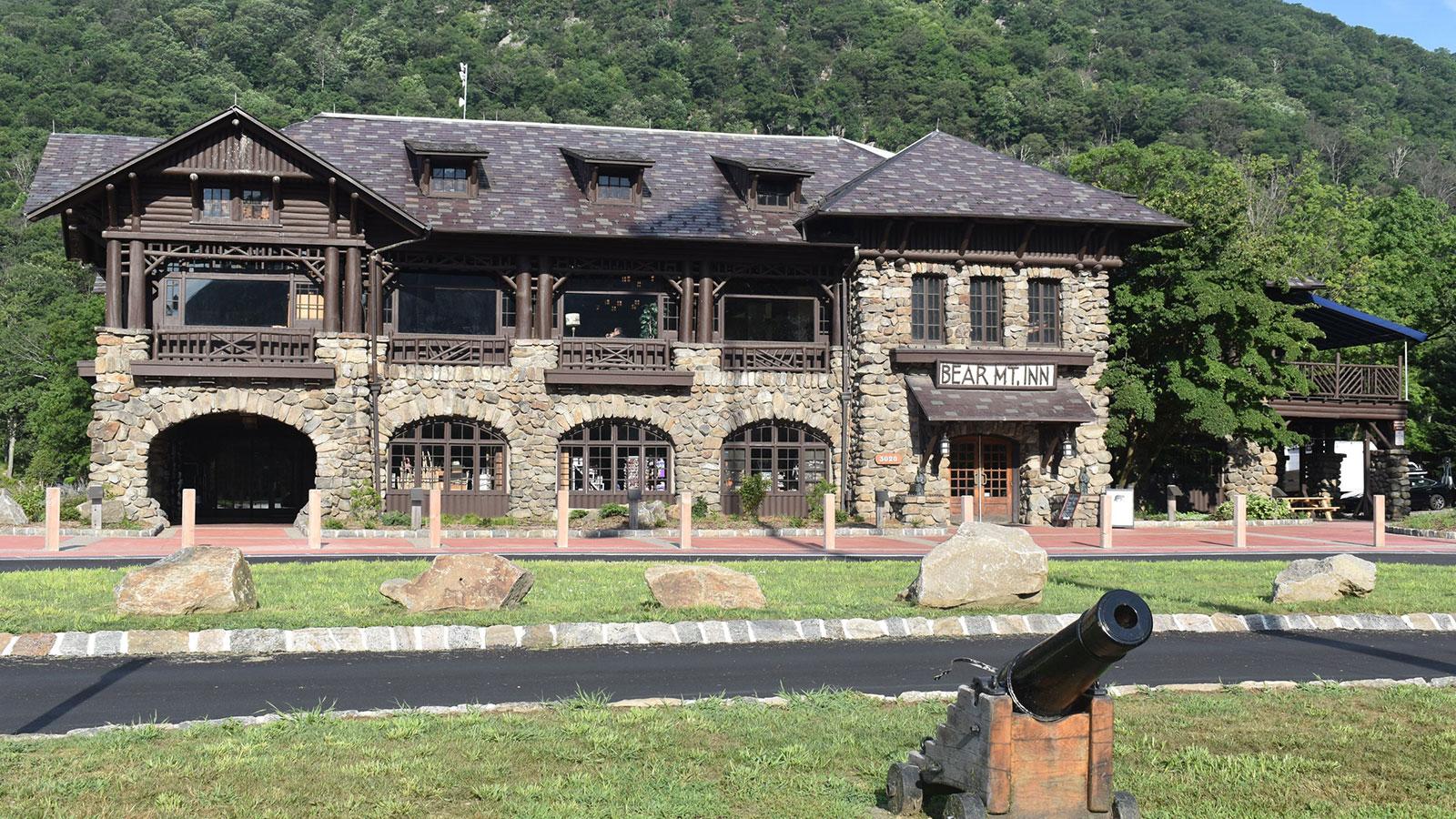 Image of Lake outside Bear Mountain Inn, 1915, Member of Historic Hotels of America, in Bear Mountain, New York, Hot Deals