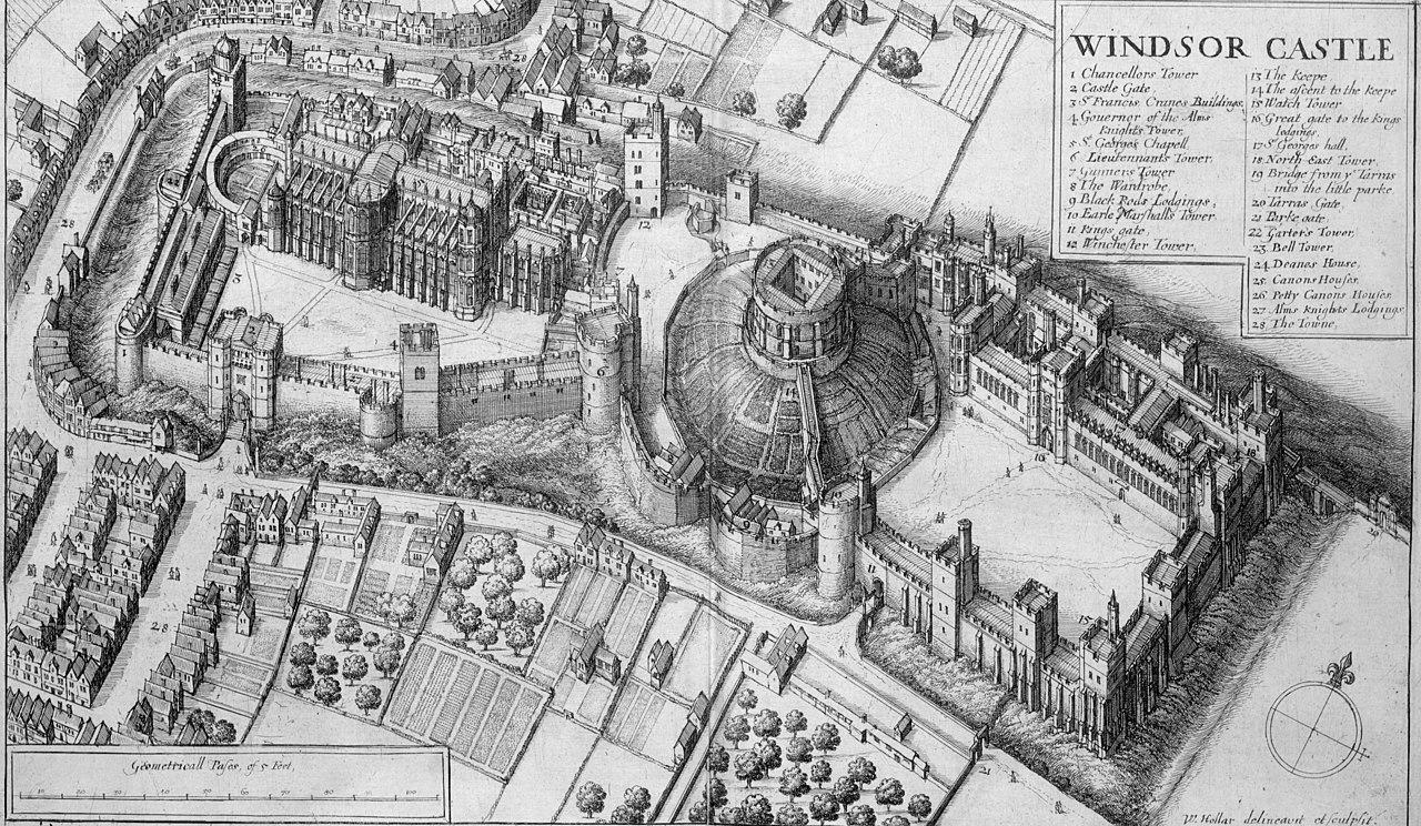 Image of historic castle property Castle Hotel Windsor, England United Kingdom, History