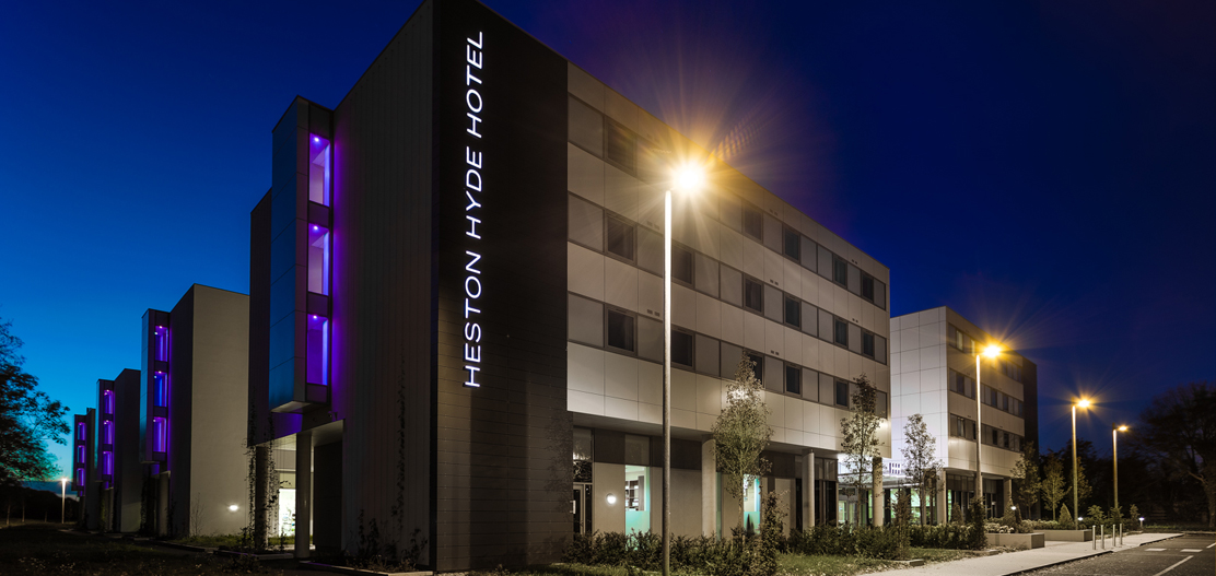 Heston hyde hotel contemporary hotel in west london for Modern hotels in london