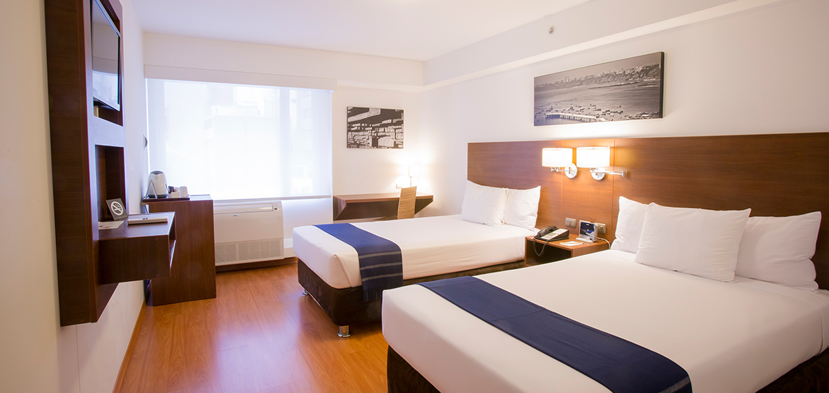 Accommodations:      Casa Andina Select Miraflores  in Lima