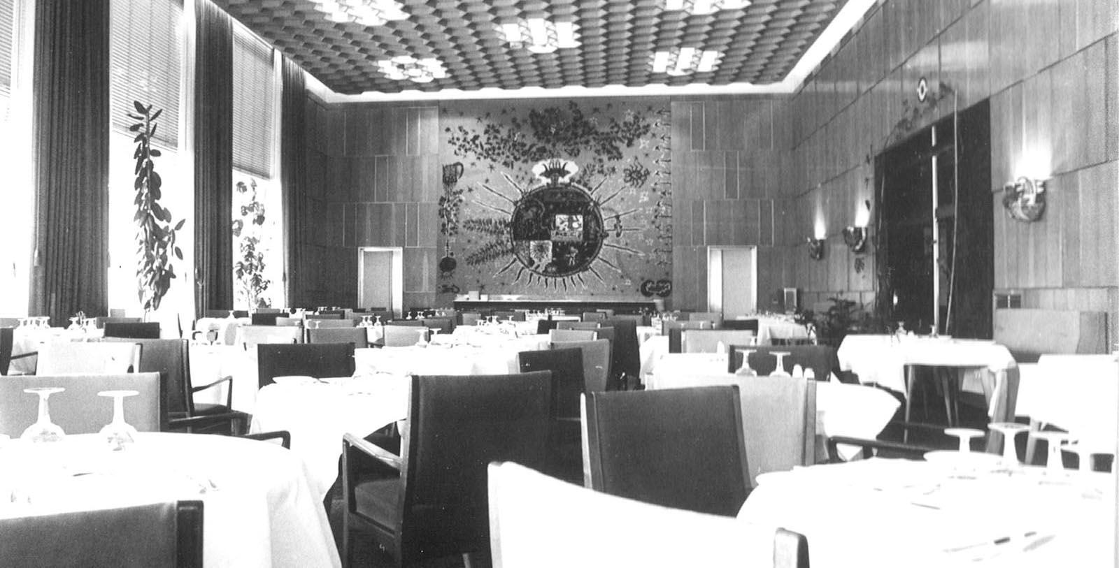 Historic Image of Meeting Room at Tivoli Avenida Liberdade Lisboa, 1933, Member of Historic Hotels Worldwide, in Lisbon, Portugal, Discover