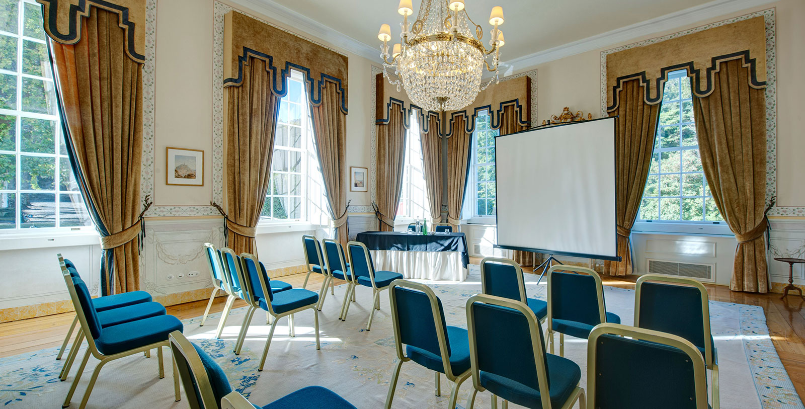 Image of Image of D Joao VI Plateia Room Tivoli Palacio de Seteais Sintra Portugal, Request For Proposal