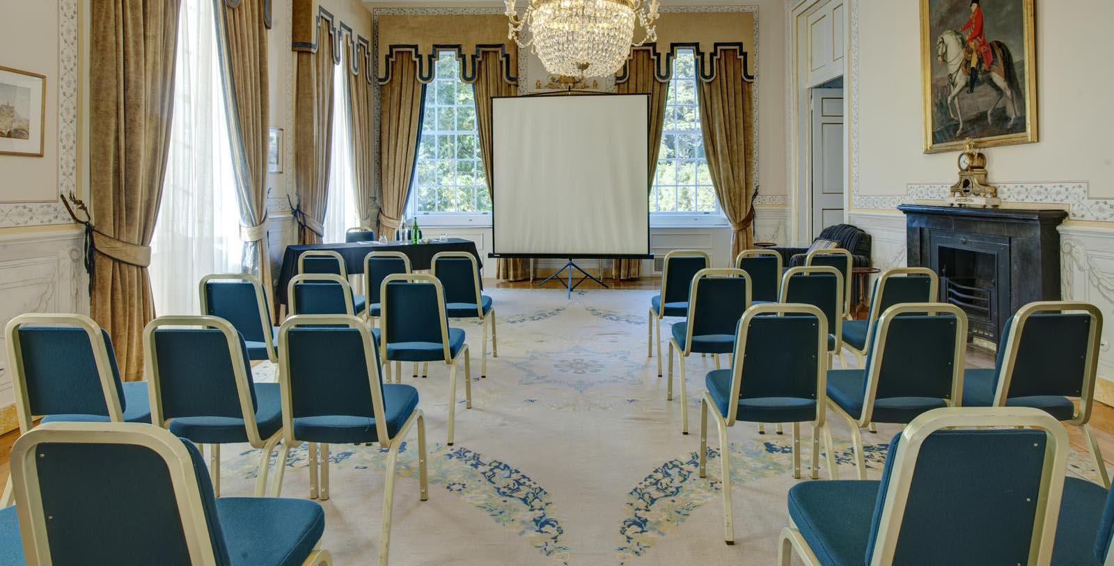 Image of Meeting Room at Tivoli Palacio de Seteais, 1787, Member of Historic Hotels Worldwide, in Sintra, Portugal, Experience