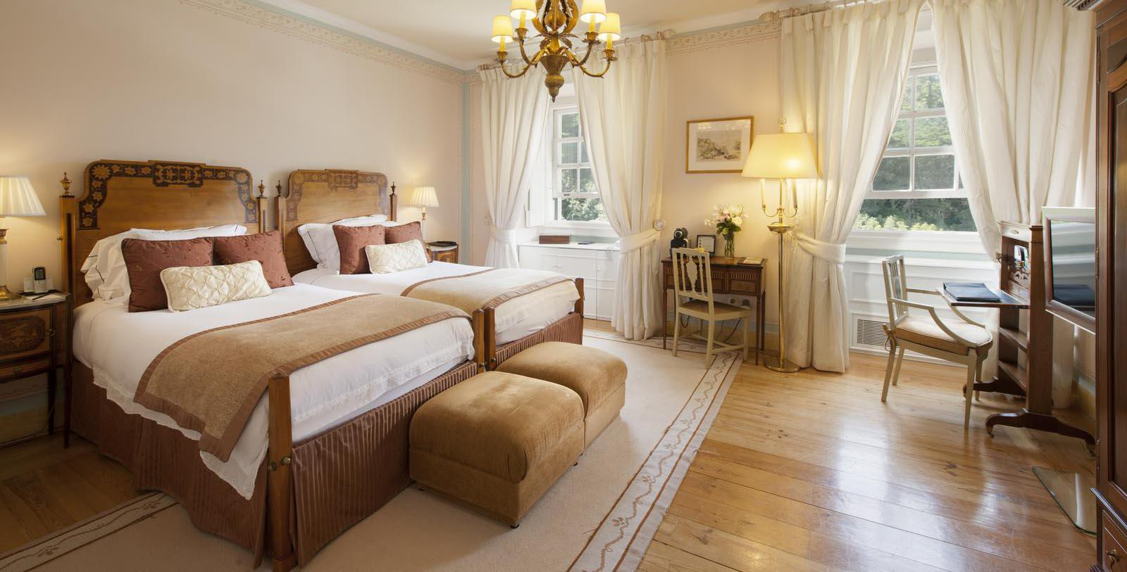 Image of Guestroom at Tivoli Palacio de Seteais, 1787, Member of Historic Hotels Worldwide, in Sintra, Portugal, Location Map