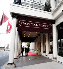 Events at      Capital Hotel  in Little Rock