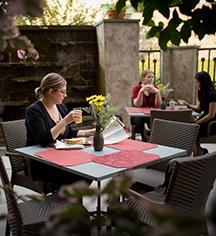Dining at      Lancaster Arts Hotel  in Lancaster