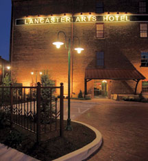 Events at      Lancaster Arts Hotel  in Lancaster