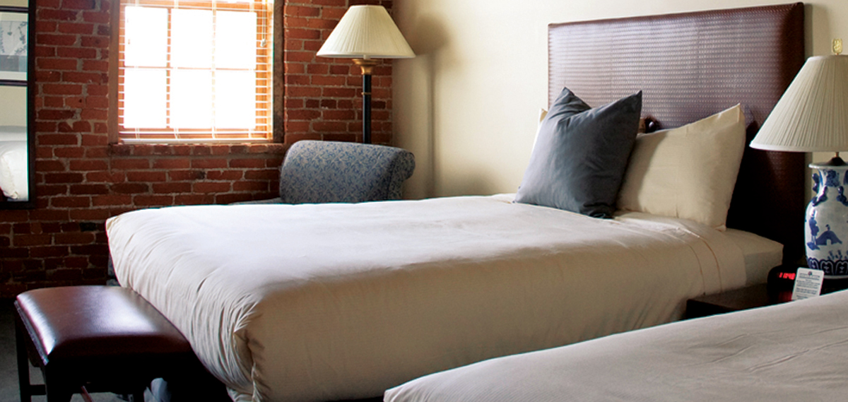 Accommodations:      Cork Factory Hotel  in Lancaster