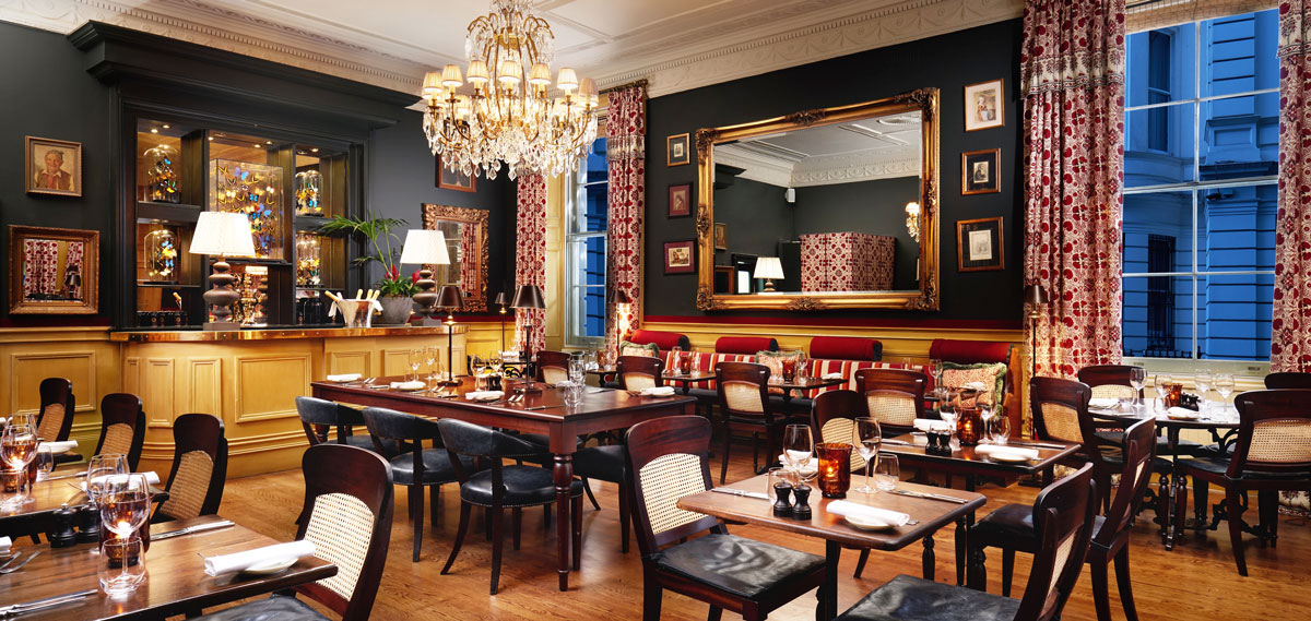 Dining:      The Gore Hotel  in London