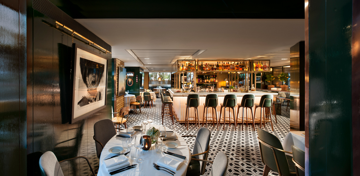 Dining:      The Hari Hotel London  in London
