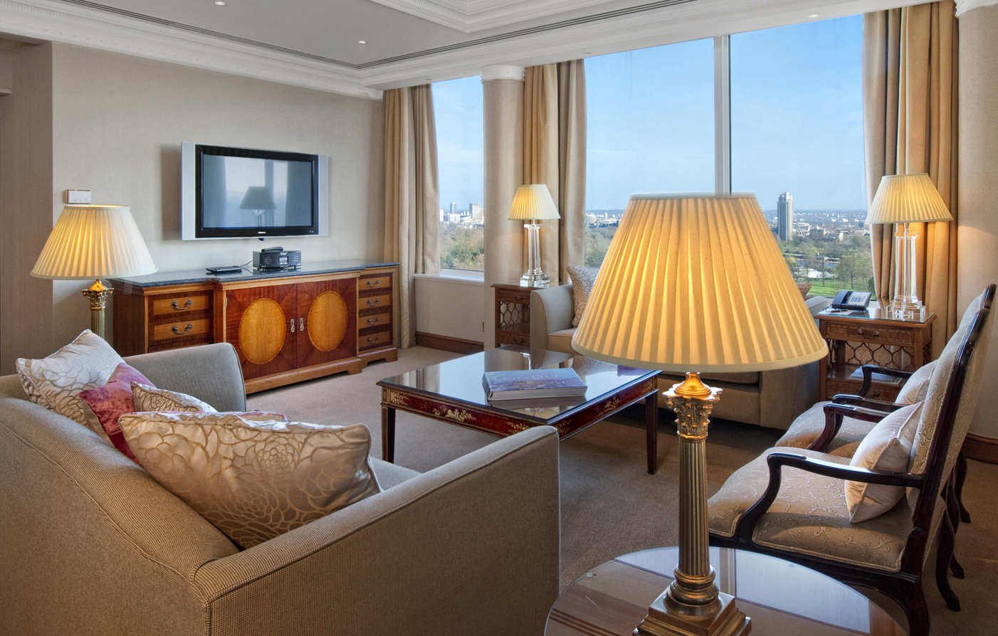 Accommodations:      Lancaster London  in London