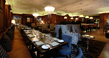 Dining at      The Landmark London  in London