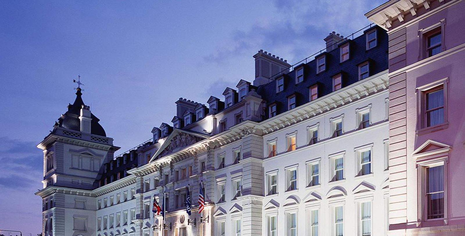 Image of Exterior at Night, Hilton London Paddington, United Kingdom, 1854, Member of Historic Hotels Worldwide, Overview