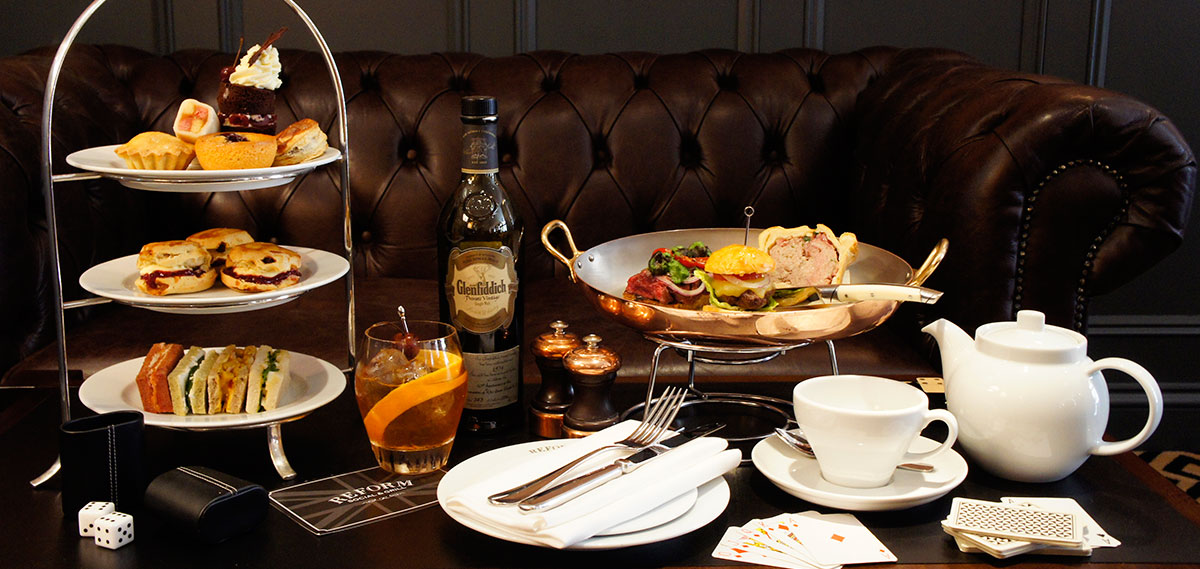 Dining:      The Mandeville Hotel  in London