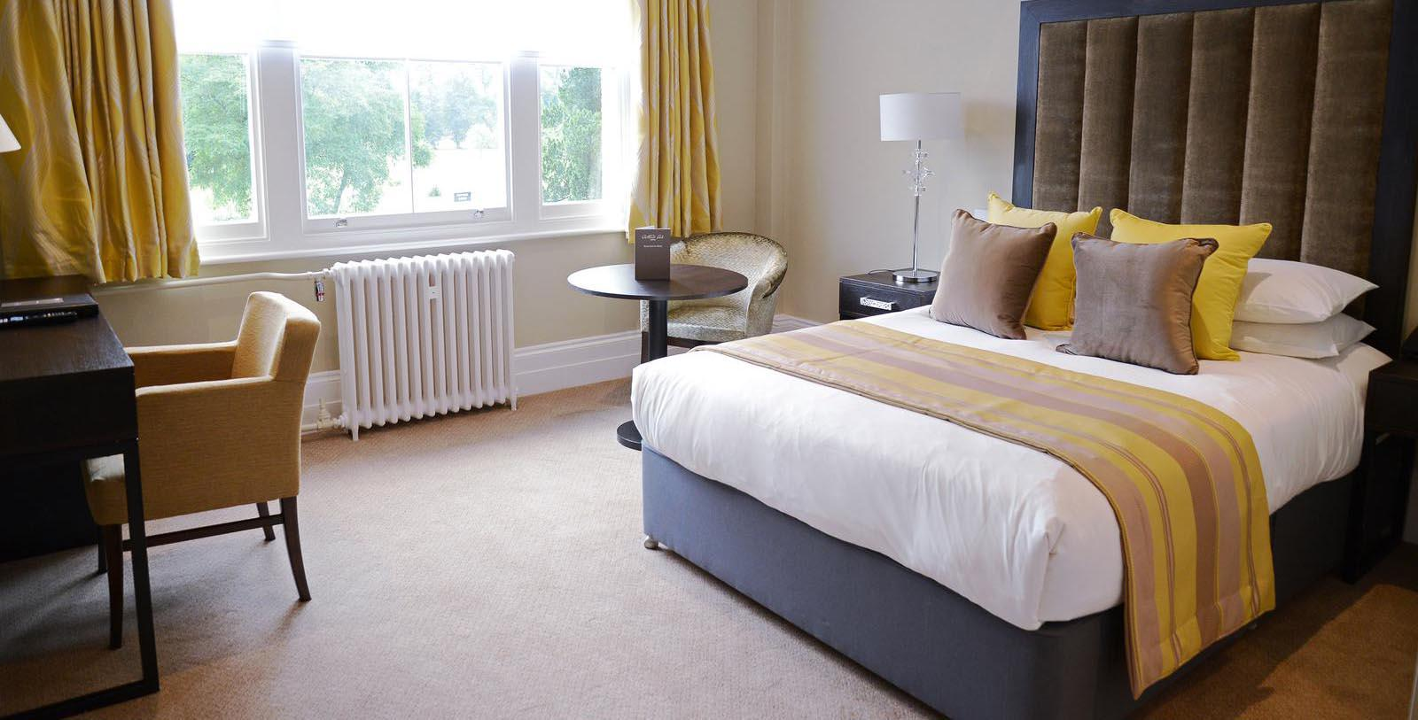 Image of Guestroom Interior Oatlands Park Hotel, 1856, Member of Historic Hotels Worldwide, in Weybridge, England, Location