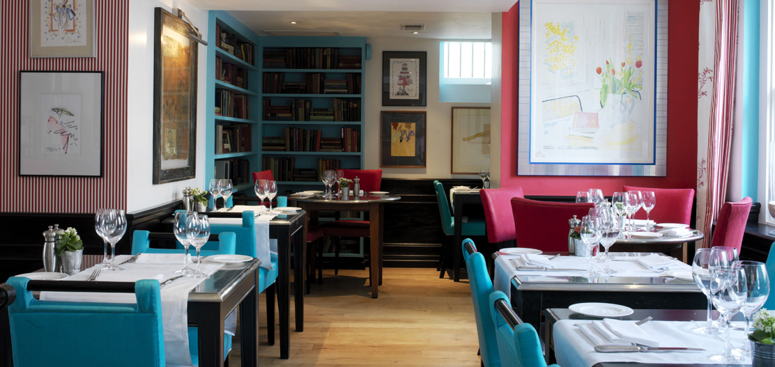 Dining:      The Pelham Hotel  in London
