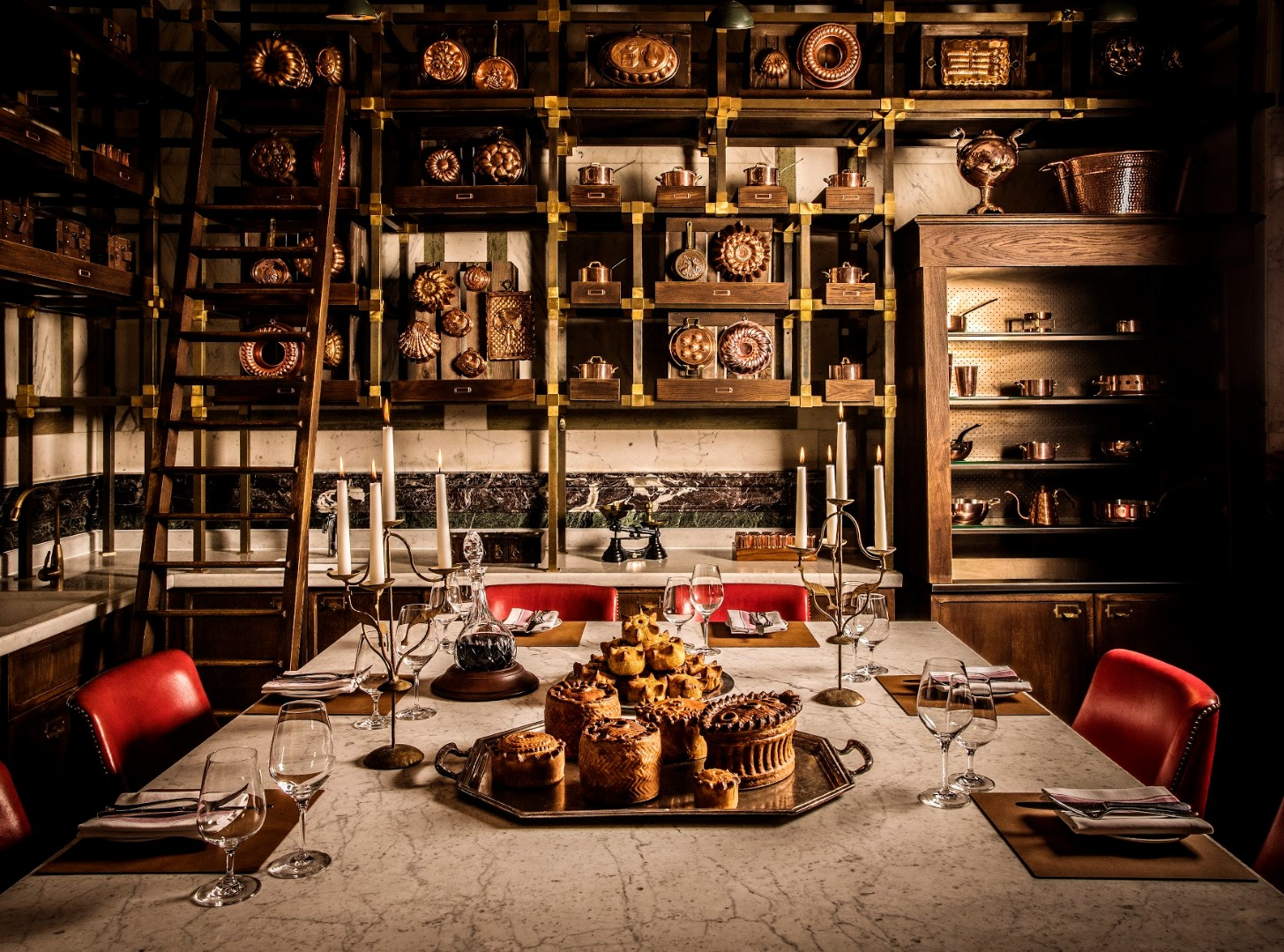 Image of Pie Room Rosewood London England United Kingdom, Dining