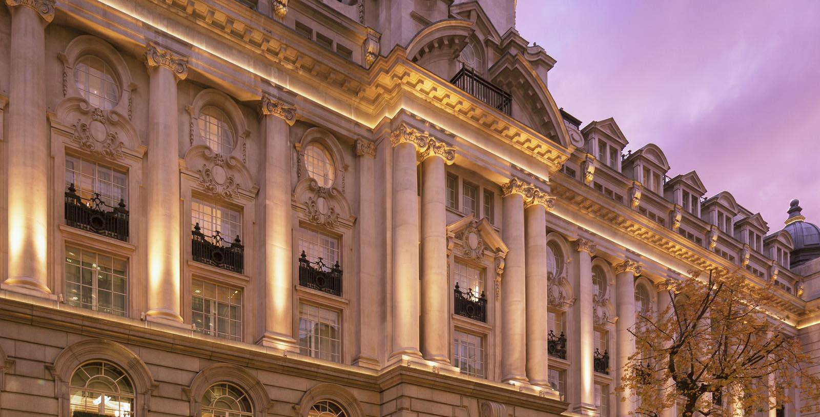 Image of Hotel Exterior Windows at Rosewood London, 1914, Member of Historic Hotels Worldwide, in London, England, United Kingdom, Discover
