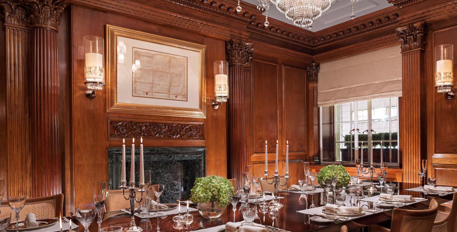 Image of Dining Room at Rosewood London, 1914, Member of Historic Hotels Worldwide, in London, England, United Kingdom, Special Occasions