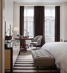 Accommodations:      Rosewood London  in London