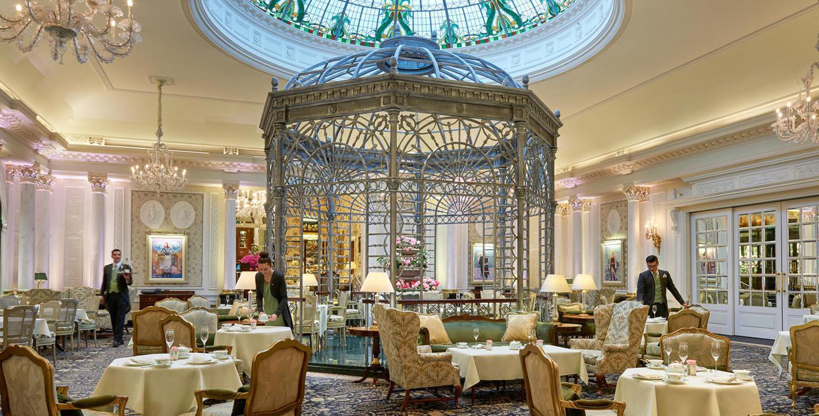 Image of the Thames Foyer at The Savoy London, 1889, Member of Historic Hotels Worldwide, in London, England, United Kingdom, Taste