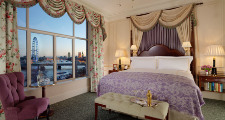 Accommodations:      The Savoy London  in London