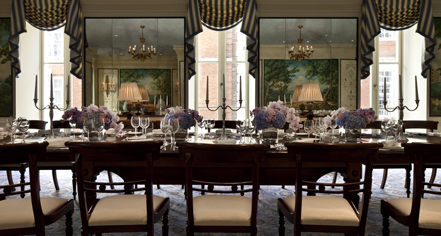 Dining at      The Savoy London  in London