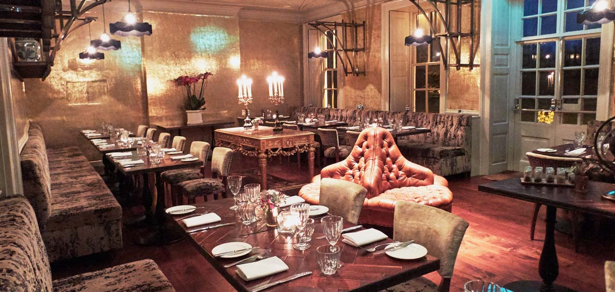 Dining:      Stoke Place  in Stoke Poges