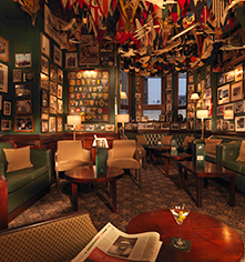 Dining at      The Stafford London  in London