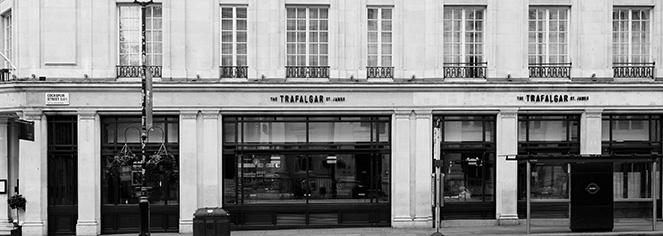 History:      The Trafalgar St. James London, Curio Collection by Hilton  in London